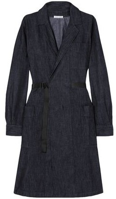 Tomas Maier Wrap-effect Denim Dress