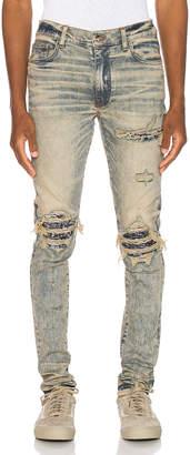 Amiri MX1 Bandana Jean in Dirty Indigo | FWRD