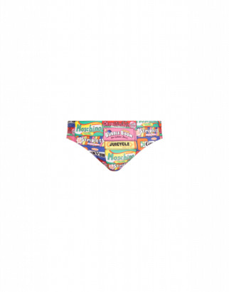 Moschino Chewin Gum Lycra Beach Briefs Man Multicoloured Size L It - (m Us)