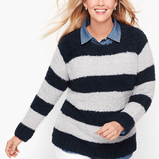 Talbots Ultra Plush Stripe Sweater