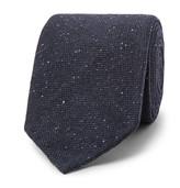 Drake's - 8cm Mélange Stretch Wool-blend Tie
