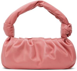 Miu Miu Pink Nappa Knot Bag
