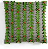 Holiday Lane 3D Felt Decorative Pillow, Created for Macy's