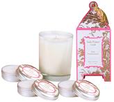 Seda France Pink Pomegranate Pagoda Candle Set (4 PC)