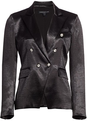 Generation Love Adele Crystal-Button Blazer