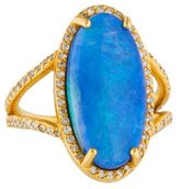 Gurhan Diamond & Opal Taormina Cocktail Ring w/ Tags