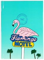 Fine&candy Flamingo Motel Notebook