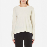 Samsoe & Samsoe Women's Albi O Neck Jumper Clear Cream