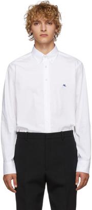 Etro White Poplin Shirt