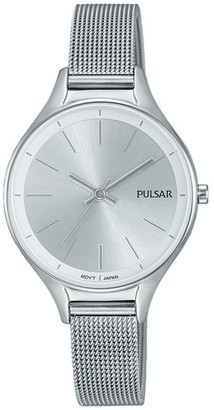 Pulsar Women's Analogue Analog Quartz Watch with Stainless Steel Strap PH8277X1