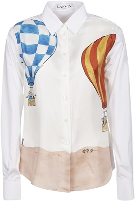 Lanvin Parachute Printed Shirt