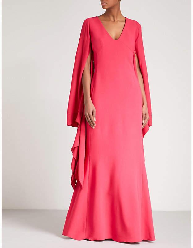 Antonio Berardi Marilena V-neck maxi dress
