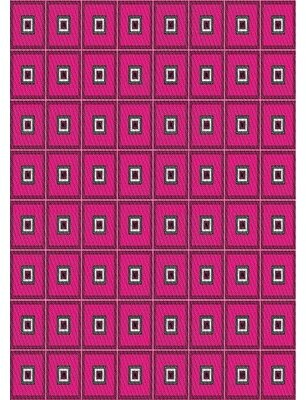 East Urban Home Patterned Purple Area Rug Rug Size: Rectangle 5' x 7'