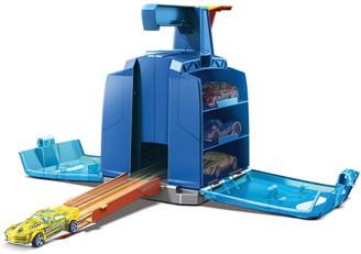 Mattel Hot Wheels Track Builder Display Launcher