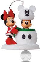 Hallmark Disney's Mickey Mouse & Minnie Mouse Snowmouse Surprise 2017 Keepsake Christmas Ornament