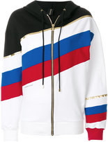 Alexandre Vauthier striped hoodie