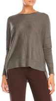 Eileen Fisher Boxy Hi-Low Sweater