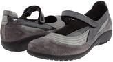 Naot Footwear Kirei (Black Suede Leather Combination) Women's Maryjane Shoes