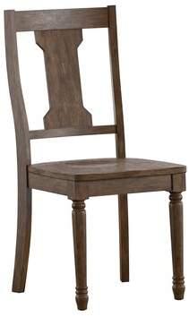Alcott Hill Petrucci Splat Back Solid Wood Dining Chair Alcott Hill