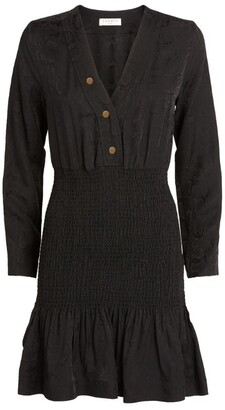 Sandro Smocked Mini Dress