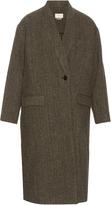 Etoile Isabel Marant Henley virgin-wool tweed coat