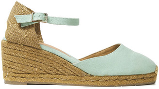 Castaner Carol Cotton-canvas Wedge Espadrilles