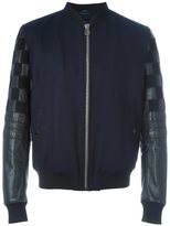 Lanvin varsity style bomber jacket