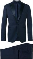 Tagliatore peaked lapels two-piece suit - men - Cotton/Cupro/Virgin Wool - 48