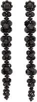 Thumbnail for your product : Simone Rocha Black Long Cluster Drip Earrings