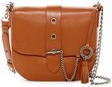 Badgley Mischka Beulah Leather Saddle Bag