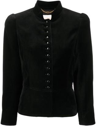 Tory Burch Fitted Velvet Jacket