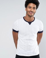 French Connection Pin Stripe T-Shirt