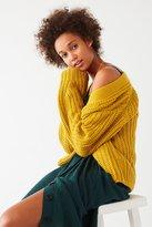BDG Frankie Chunky Knit Cardigan