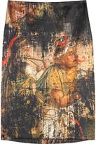Mosaic graffiti skirt