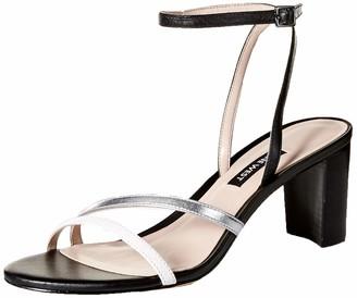 Nine West Women's PARLANDA Leather Heeled Sandal