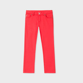 Paul Smith Girls' 7+ Years Red Denim 'Poppy' Jeans