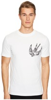 McQ Printed Swallow T-Shirt