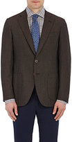 Isaia Men's Two-Button Gregory Sportcoat-BROWN