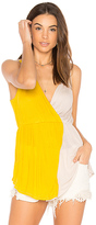 Free People Last Night Tank in Yellow. - size L (also in )
