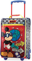 """Disney Mickey Mouse 18"""" Rolling Suitcase by American Tourister"""
