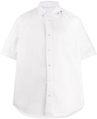 Sacai Short Sleeve Poplin Shirt