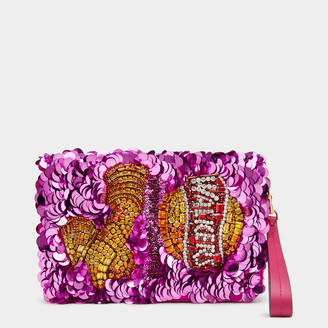 Anya Hindmarch Anya Brands Walkers Clutch
