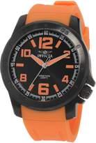 Invicta Men's Specialty Dial Orange Rubber