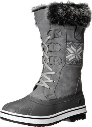 Northside Women's Bishop-W Snow Boot Gray 9 M US