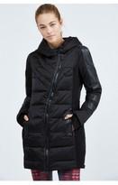 Blanc Noir Asymmetric Puffer Jacket