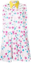 DELPOZO allover stars print dress - women - Cotton - 36