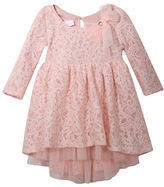 Iris & Ivy Baby Girls High-Low Lace Dress