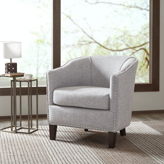Madison Home USA Emery Cream Barrel Arm Chair