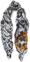 Amanda Wakeley Leopard Print Scarf