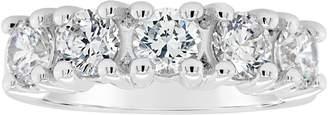 Affinity Diamond Jewelry Affinity 1.70 cttw 5-Stone Diamond Band Ring, 14K